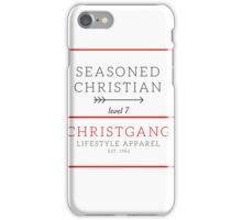 Seasoned Christian iPhone Case/Skin