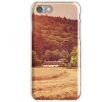 The cottage at the edge of the wood iPhone Case/Skin