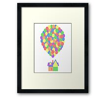 Up Your Colour Framed Print