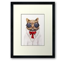 Astro Cat! Framed Print
