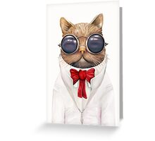 Astro Cat! Greeting Card