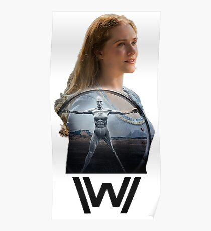 WESTWORLD - Dolores' secret Poster