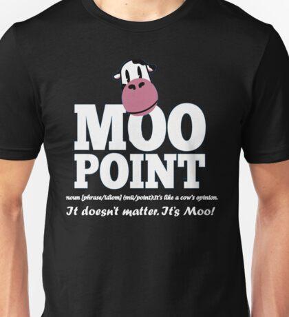 Joey - Moo point friends tshirt Unisex T-Shirt