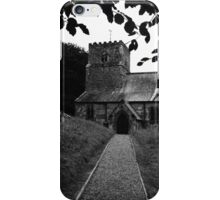 an english church iPhone Case/Skin