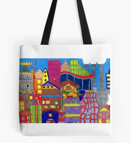 Buildings Tote Bag