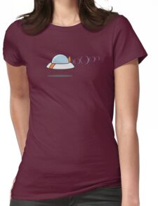 Flying Saucer Womens Fitted T-Shirt