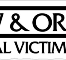 SVU Logo Sticker