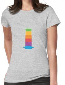 Rainbow Aeropress Womens Fitted T-Shirt
