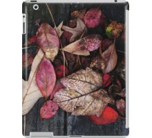 Collage Of Red iPad Case/Skin