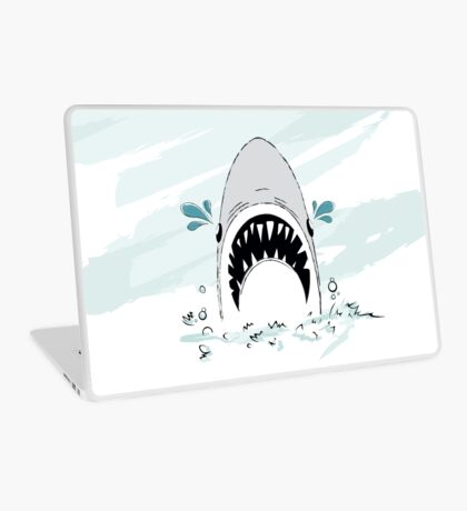 Crying Shark Laptop Skin