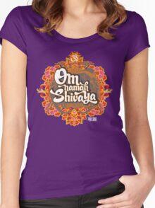 Om namah Shivaya  Women's Fitted Scoop T-Shirt