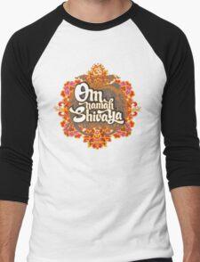 Om namah Shivaya  Men's Baseball ¾ T-Shirt