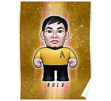 Sulu - Star Trek Caricature Poster