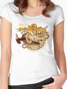 The Great Pit of Carkoon Women's Fitted Scoop T-Shirt