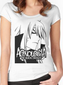 Fairy Tail - Acnologia Women's Fitted Scoop T-Shirt