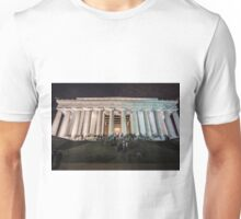 Lincoln memorial in the evening Unisex T-Shirt