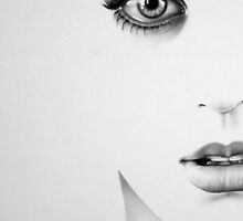 The Half Series: Katy Perry by IleanaHunterArt