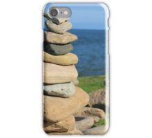 holy island, past and present iPhone Case/Skin
