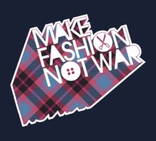 MAKE FASHION NOT WAR Kids Tee