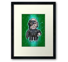 Locutus - Star Trek Caricature Framed Print