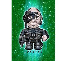 Locutus - Star Trek Caricature Photographic Print