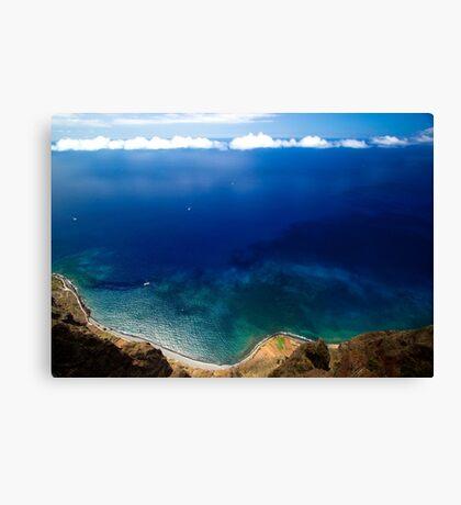 Wonderful Sea Coast - Nature Photography Canvas Print