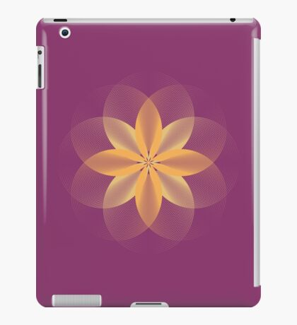 Geo Flower iPad Case/Skin