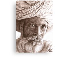 Man from Rajasthan Canvas Print