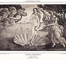 The Birth of Venus by Krzyzanowski Art