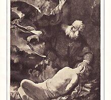 The sarcifice of Abracham by Krzyzanowski Art