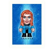Dr. Crusher - Star Trek Caricature Art Print
