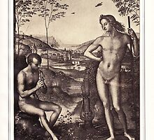 Apollo and Marsyas by #Palluch #Art