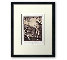 Apollo and Marsyas Framed Print