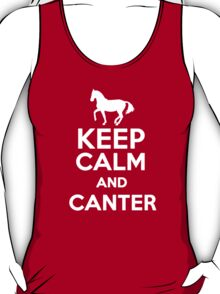Keep calm and canter (horse riding) T-Shirt