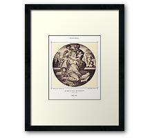 Holy family MICHELANGELO BUONAROTTI Framed Print