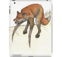 Spox! The spider and the fox iPad Case/Skin