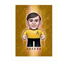 Chekov - Star Trek Caricature Art Print