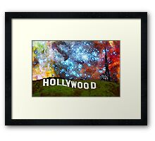 Hollywood 2 - Home Of The Stars By Sharon Cummings Framed Print