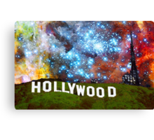 Hollywood 2 - Home Of The Stars By Sharon Cummings Canvas Print