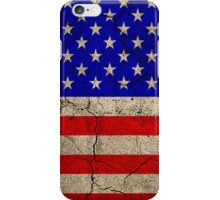 Grunge 'Stars and Stripes' iPhone Case/Skin