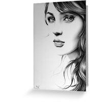 Pencil Portrait Greeting Card