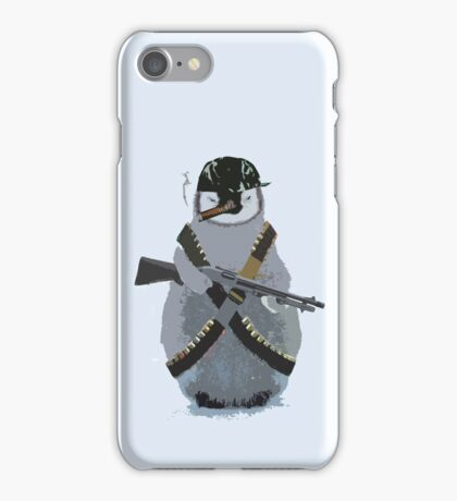 Sergeant Penguin iPhone Case/Skin