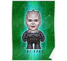 Borg Queen - Star Trek Caricature Poster