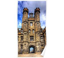 New College Gatehouse Poster