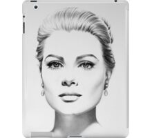 Grace Kelly Minimal Portrait iPad Case/Skin