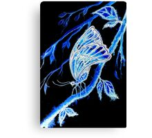 Wings of a Butterfly Canvas Print