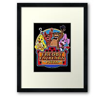 Fun times at Freddy's Framed Print