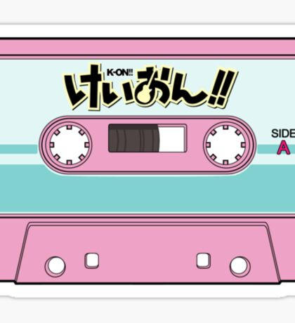 K-on Cassette Tape Sticker