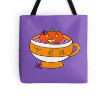 Pumpkin Tea Tote Bag