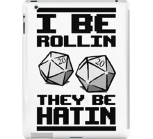 Roleplaying D20 Dice iPad Case/Skin